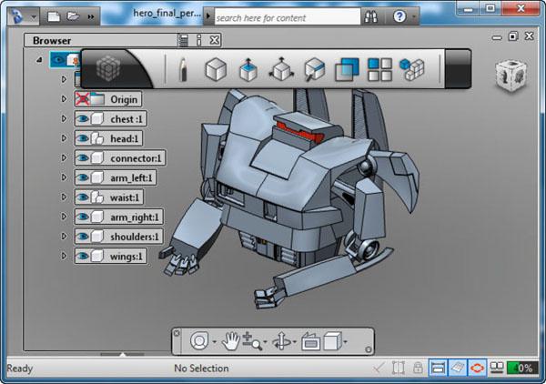 Images Autodesk 123d