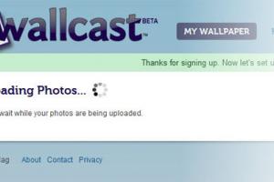 Wallcast