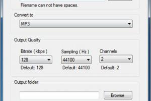 Chameleon Audio Converter