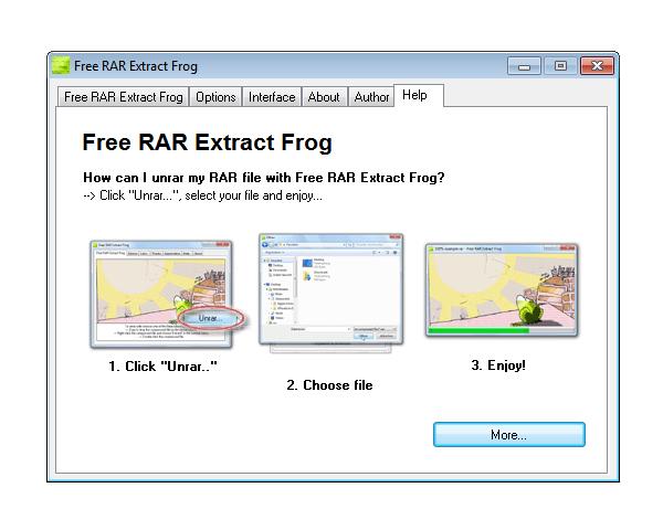 free rar extract frog 4 30