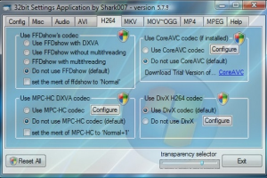 Windows Vista Codec Package