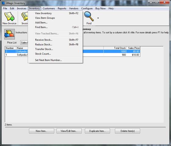Imagic inventory key generator