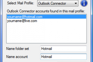 Live Hotmail Rename Tool