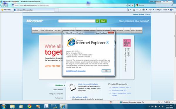 Internet explorer - скачать бесплатно internet explorer 7 0 5730 13.