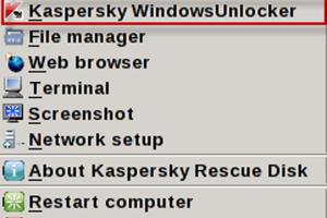 Kaspersky WindowsUnblocker