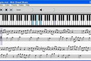 Midi Sheet Music