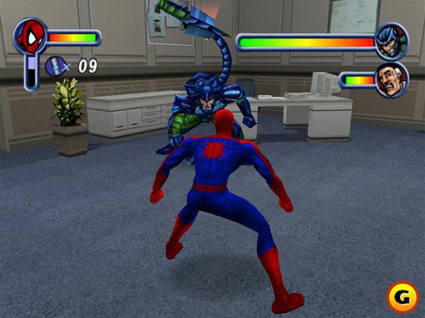 image gallery jeux spider man. Black Bedroom Furniture Sets. Home Design Ideas
