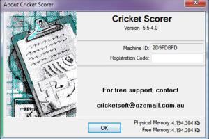Cricket Scorer