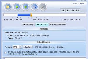 Audio File Cutter