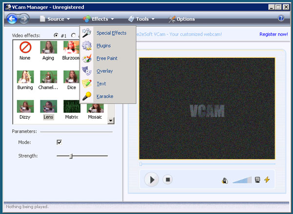 Images VCam