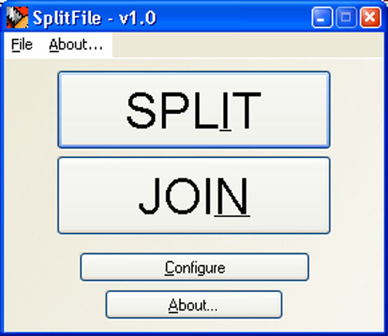 images jockersoft splitfile
