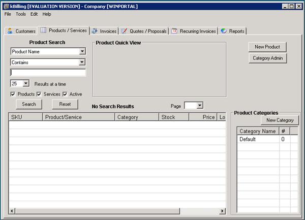 K billing software
