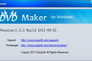 iOrgsoft Free DVD Maker