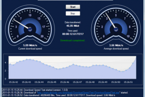 how to really trst download speed