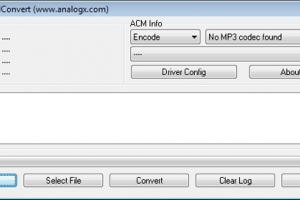 AnalogX ACMConvert