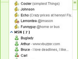 Vbuzzer Messenger