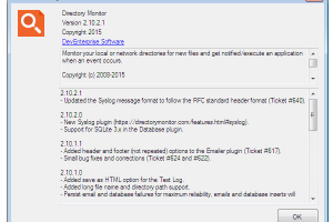 Directory Monitor Portable