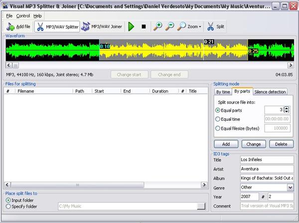 Hifi-soft mp3 audio splitter joiner v1 20 программа для.