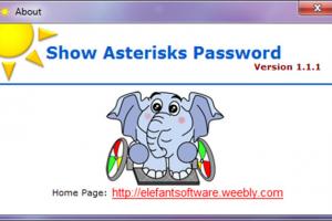 Show Asterisks Password