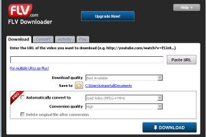 FLV.com FLV Downloader