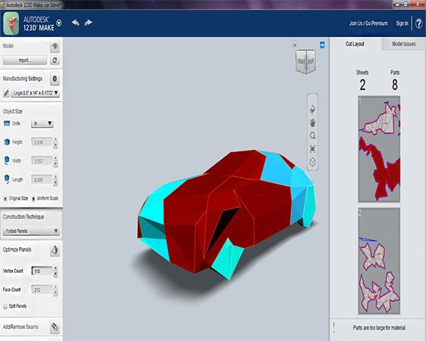 Images Autodesk 123d Make