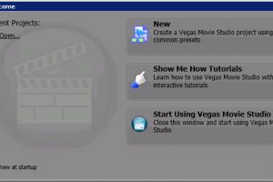 Vegas Movie Studio HD