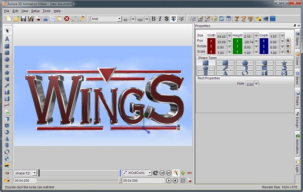 Images Aurora 3d Animation Maker