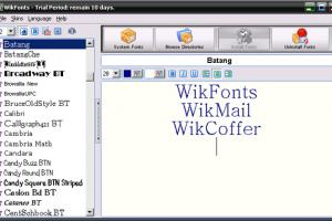 WikFonts