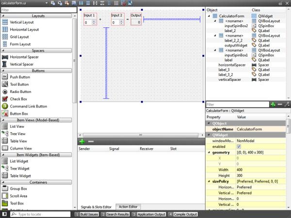 Images Qt Creator IDE