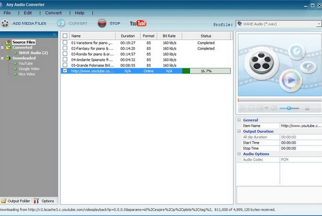 Download Any Audio Converter