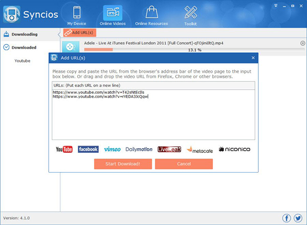 Syncios Registration Key