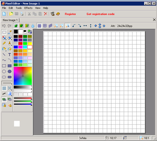 Images Pixel Editor