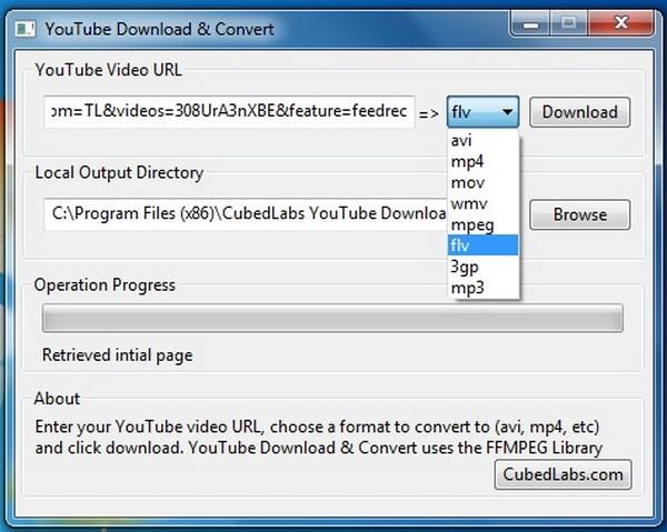 YouTube Download & Convert