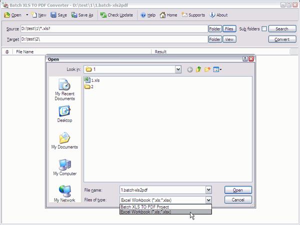 free xls to pdf converter