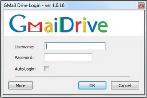 GMail Drive shell extension