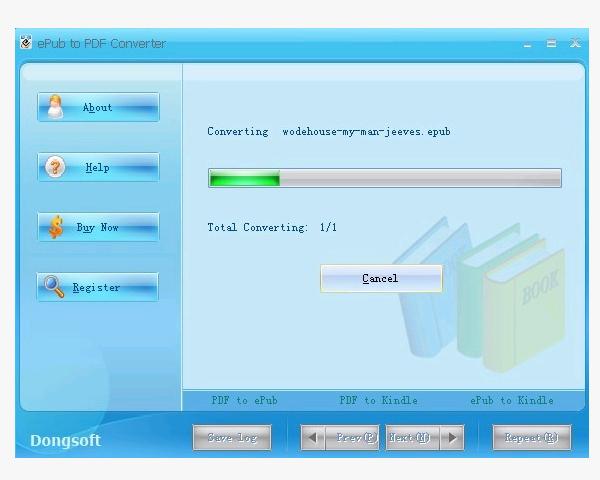 how to convert epub to pdf free